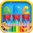 alphabet anglais prononciation & enfants coloriage icon