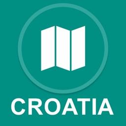 Croatia : Offline GPS Navigation