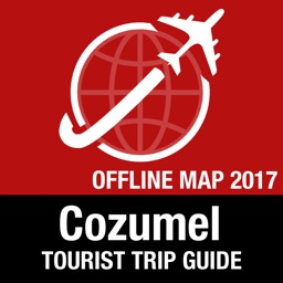 Cozumel Tourist Guide + Offline Map