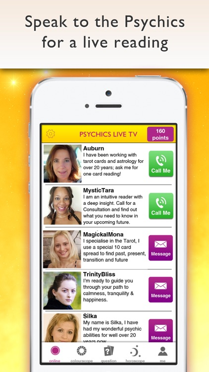 Psychics Live: Psychic Readings, Tarot, Horoscopes