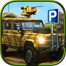 Army - Parking - Simulator
