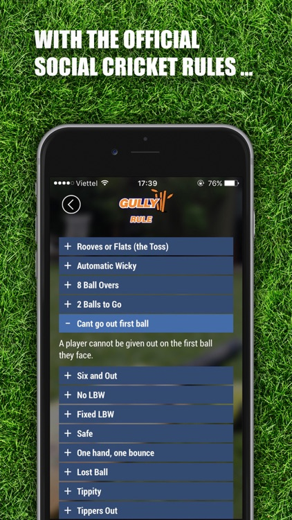 Gully – The ultimate social cricket companion