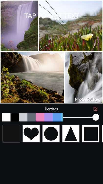 Photo Collage Maker & RainBow Photo Editor screenshot-3
