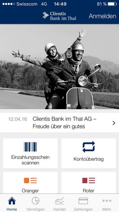 Clientis BITScreenshot von 1