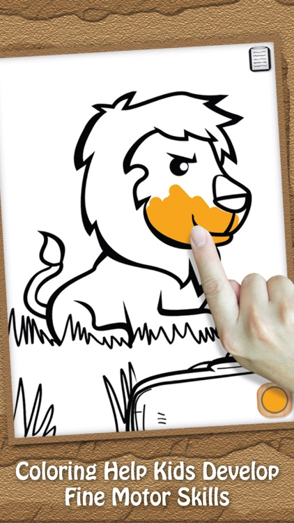 Paint & Play Animal Planet, Coloring Book For Kids screenshot-3