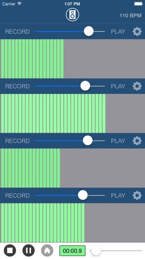 Sonoma Wire Works: FourTrack Multitrack Recorder for iOS