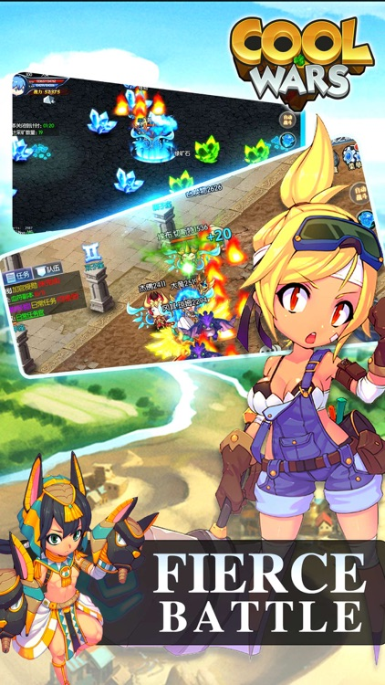 Cool Wars - MMORPG Adventure Games screenshot-3