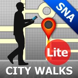 Siena Map and Walks