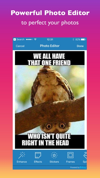 ePicEffects - photo editor for your social posts