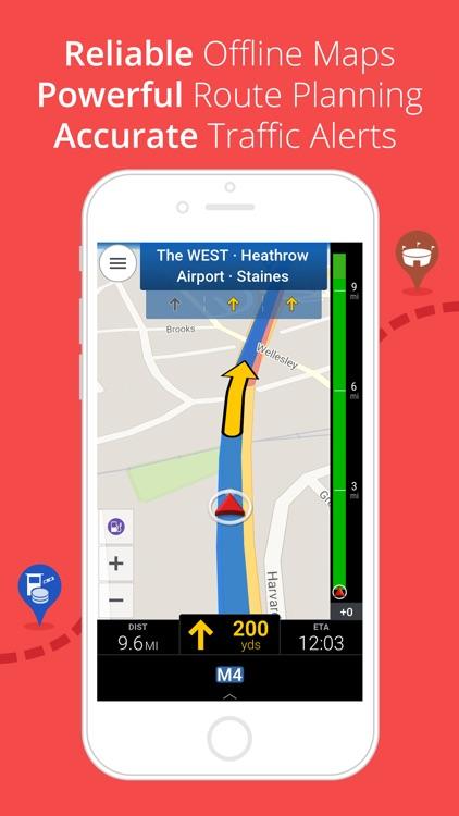 CoPilot Europe - Offline Sat-Nav, Traffic and Maps screenshot-0
