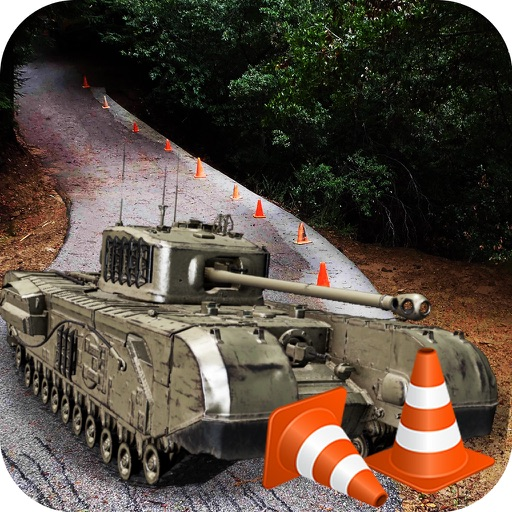 Army Tank Battle Field Driver