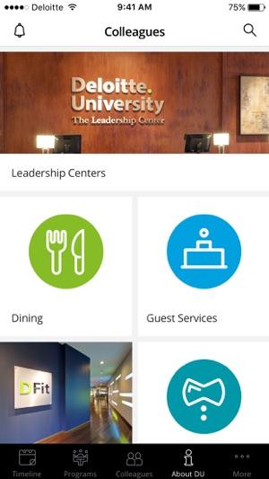 ea2111a57f0 Deloitte University on the App Store