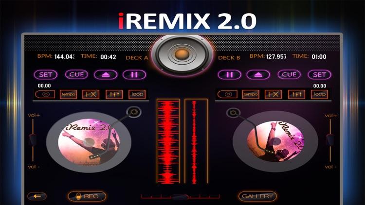 iRemix 2.0 - Portable DJ Music Mixer & Remix Tool screenshot-4