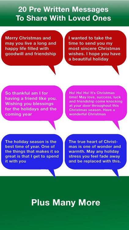 Special Messages For Christmas (Xmas) & New Years