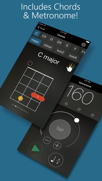 download Precision Ukulele Tuner - with Chords & Metronome apps 1