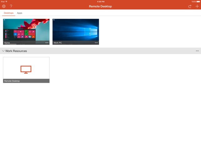Microsoft Remote Desktop on the App Store