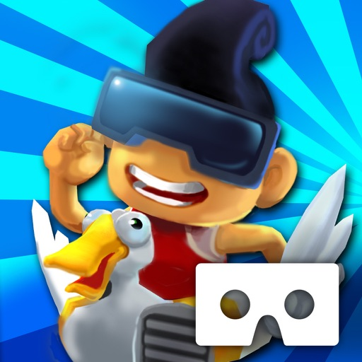 3D City Run VR for Google Cardboard-Parkour game! by Jelly