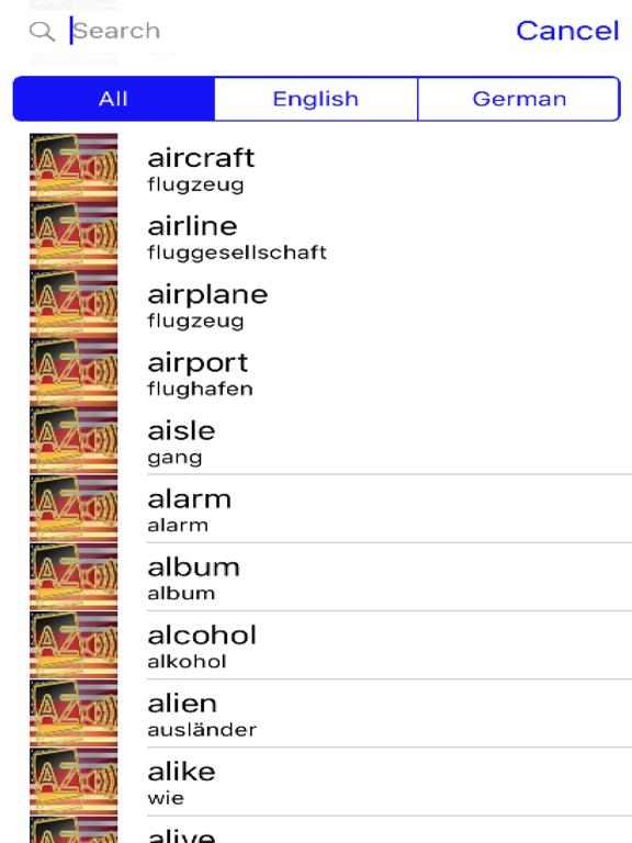 German Dictionary GoldEdition screenshot 8