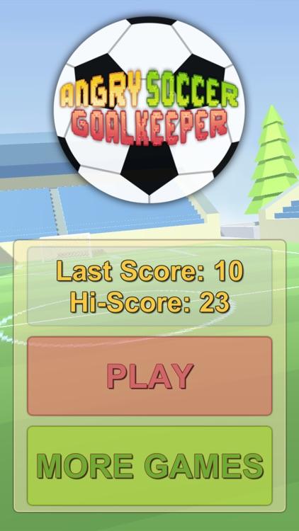 Angry Soccer Goalkeeper screenshot-4
