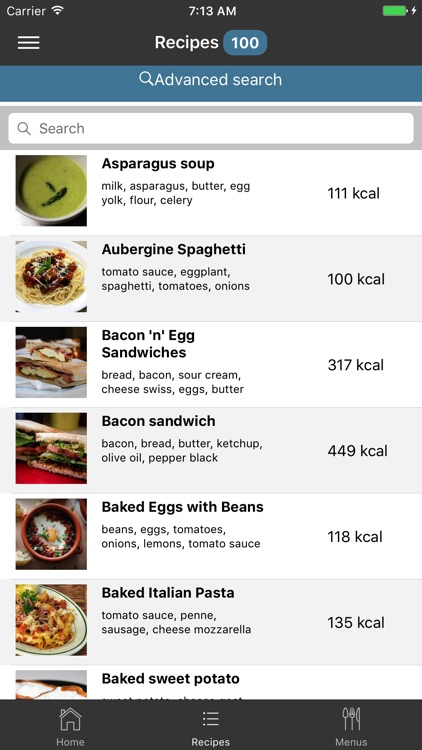 EasyMenu Balanced Meal Planner screenshot-0