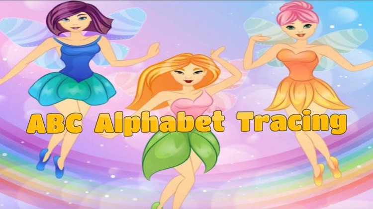 Fairy tale and ABC Alphabet tracing for kid