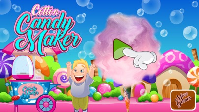 Cotton Candy Maker Free Game screenshot one