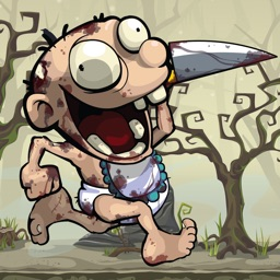 Zombie Run Game : jumping and running games