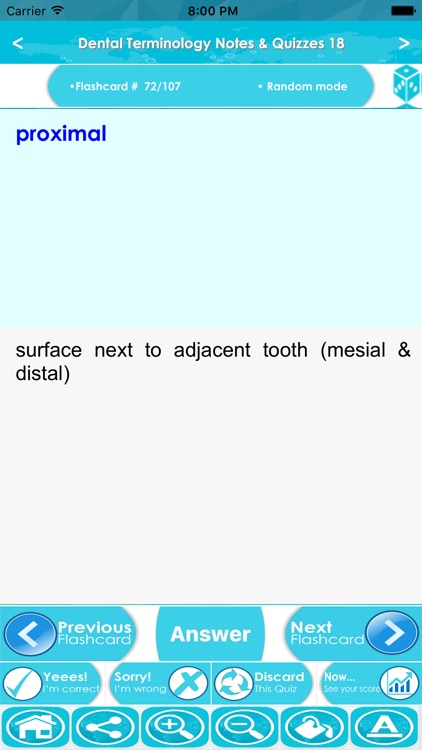 Dental Terminology For Self Learning : 2300 Terms screenshot-4