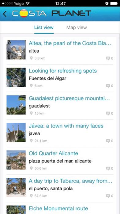 Costa Planet screenshot two