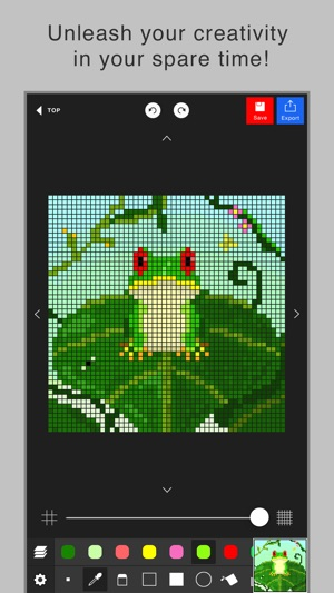 Pixel art editor - Dottable - on the App Store