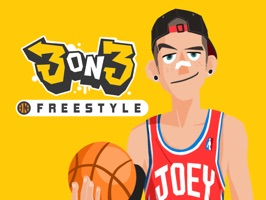 Express all your moods and emotions in your iMessages with this 3on3 FreeStyle character stickers