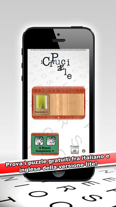 Screenshot of iCruciPuzzle Lite3