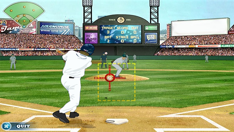 Real 3D Baseball - Superstar Traning Simulation