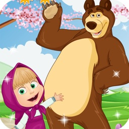 masha and bear - fun games