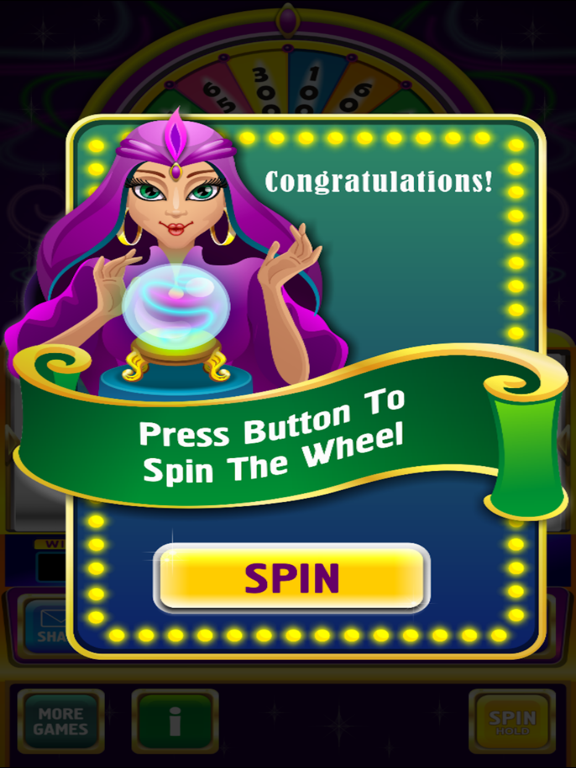 Crystal Ball Magic 8 Bonus Bet Billionaire Slots screenshot 6