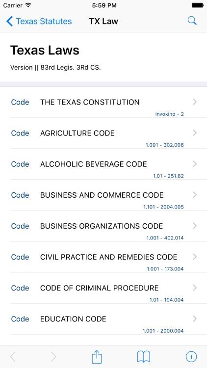 Texas Law (LawStack TX Series)