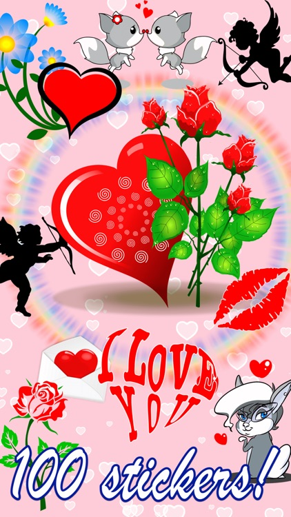 I Love You • 100 stickers for iMessage