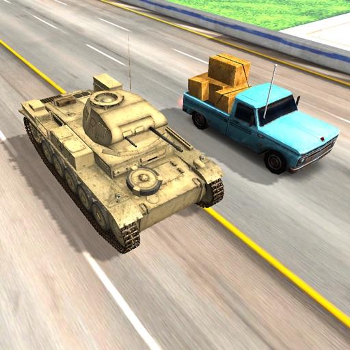 Military Tank 3D Racing Free Games