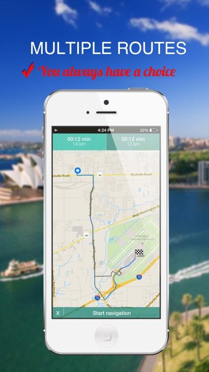Brazil : Offline GPS Navigation