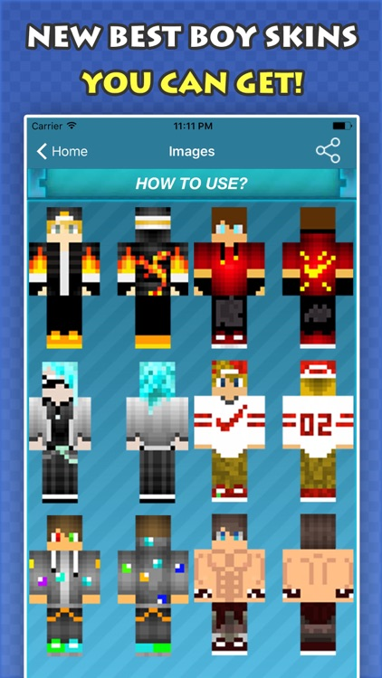 New COOL BOY SKINS FREE For Minecraft PE PC By Fatna Chaib - Skins para minecraft pc 1 11
