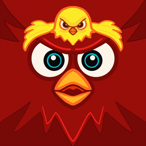 Red Birds Wings - Fly and don't touch the spikes iOS App