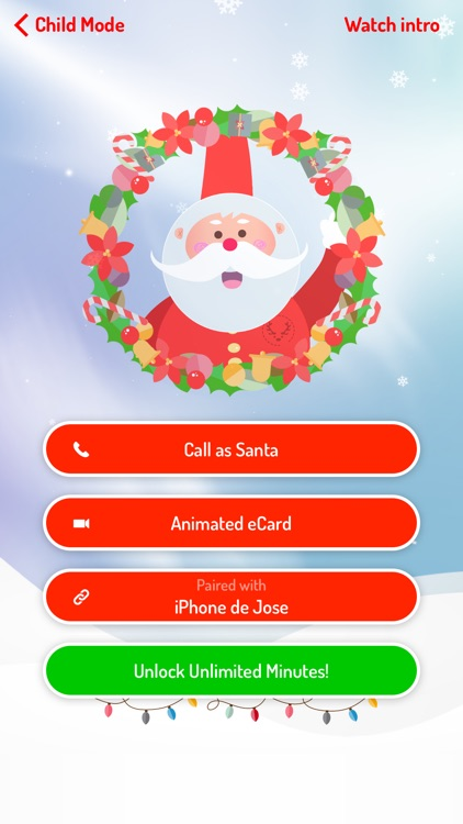 XmasTime - Video calls to your own family Santa screenshot-3