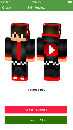 Boy Skins for Minecraft PE Edition on the App Store
