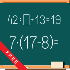 Activities of Math on Chalkboard (Free)