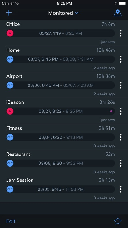 Geofency: Time Tracking – Automatic Location-based