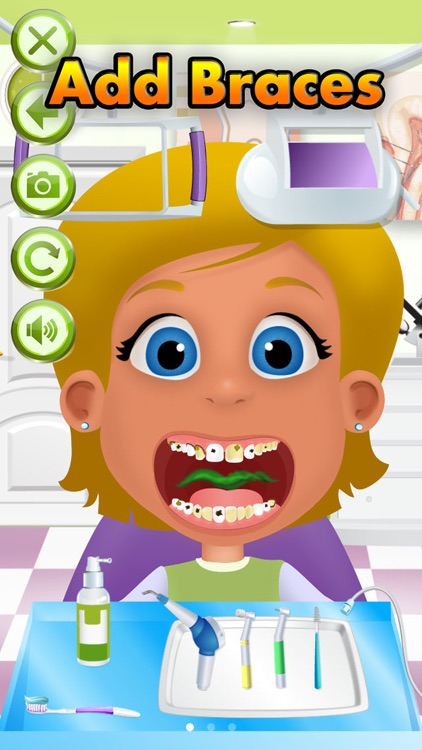 Dentist Office - Doctor Salon, Baby & Kids Games screenshot-3