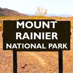 Mount Rainier National Park Map, WA