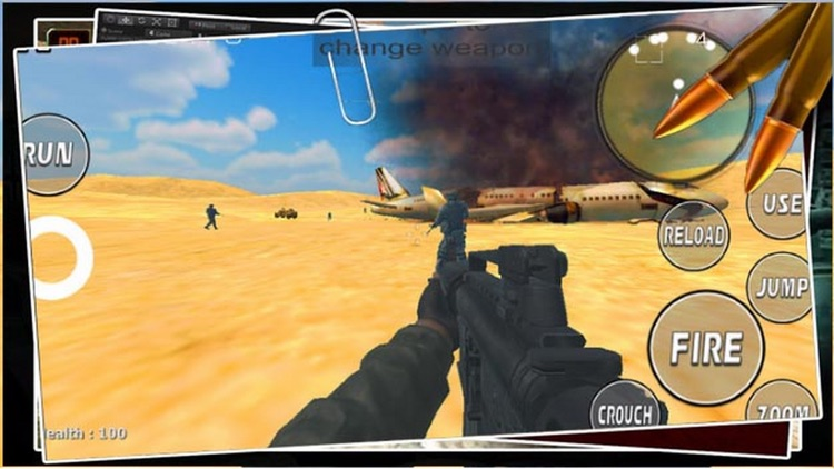Army Desert Mission Attack