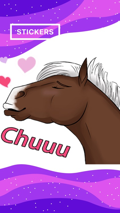 Horsemoji. Stickers by Design111