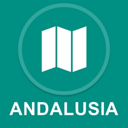 Andalusia, Spain : Offline GPS Navigation